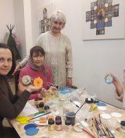 Сестры милосердия войскового собора продолжают подготовку к рождественским праздникам