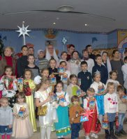 Дети Воскресной школы поздравили прихожан Собора праздничным театрализованным представлением