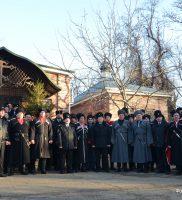 Церемония, посвященная Дню памяти жертв массовых репрессий казачества