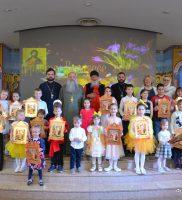 Праздничное представление для прихожан в день Малой Пасхи