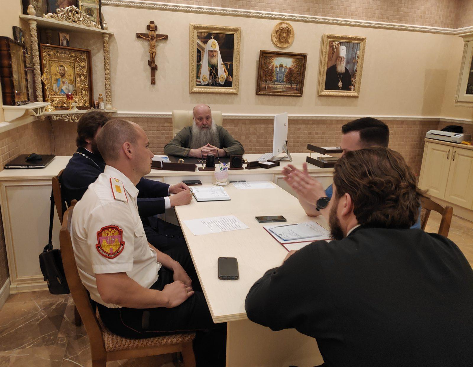 Подвели итоги учебного года и наметили планы организации внешкольного досуга для казачат